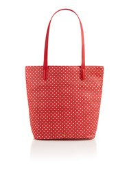 Dickins And Jones Ns Tote Bag White Red White And Red