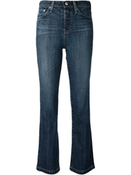Adriano Goldschmied High Rise Bootcut Jeans Blue