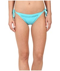 Michael Michael Kors Bohemian Rhapsody Beaded String Bottom Turquoise Women's Swimwear Blue