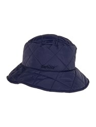 Barbour Quilted Bucket Hat Navy
