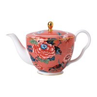 Wedgwood Paeonia Large Teapot Coral
