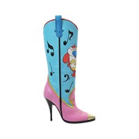 Jeremy Scott Itchy And Scratchy Cowgirl Boots