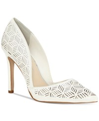 Jessica Simpson Charie D'orsay Dress Pumps Women's Shoes Powder