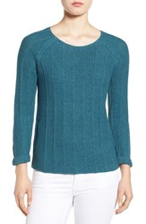 Nic Zoe Women's 'Pop Top' Scoop Neck Sweater