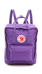 Fjall Raven Fjallraven Kanken Backpack Purple