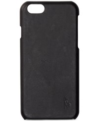 Polo Ralph Lauren Men's Leather Iphone 7 Case Black