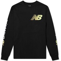 Aries X New Balance Long Sleeve Arise Tee Black