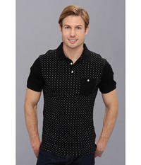 7 Diamonds Hypnotize Black Men's Short Sleeve Pullover