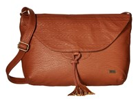 Roxy Love Grows Crossbody Purse Brown Cross Body Handbags