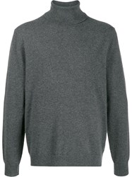 Theory Turtleneck Slim Fit Jumper Grey
