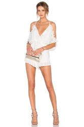 Lovers Friends Malia Romper White
