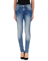 Loiza By Patrizia Pepe Denim Pants Blue