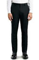 Men's Topman Skinny Fit Black Suit Trousers