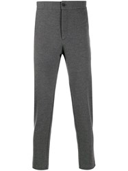 Harris Wharf London Tailored Track Pants Grey