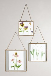 Anthropologie Hinged Hanging Picture Frame Bronze