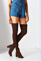 Jeffrey Campbell Cienega Over The Knee Boot Brown