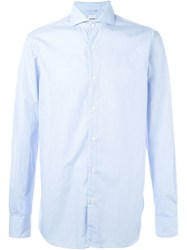 Aspesi Thin Stripe Shirt Blue