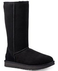 Ugg Classic Ii Genuine Shearling Lined Tall Boot Black