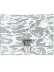 Opening Ceremony Hand Clasp Clutch Green