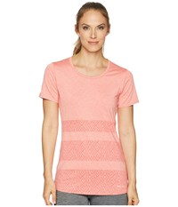 Marmot Cameron Short Sleeve Hibiscus Clothing Pink