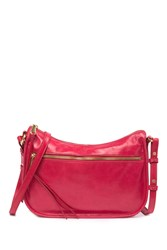 Hobo Karder Small Leather Crossbody Geranium