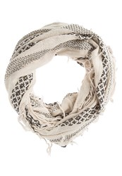 Roxy Jena Snood Sand Piper Off White