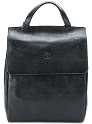 Il Bisonte Classic Backpack Black