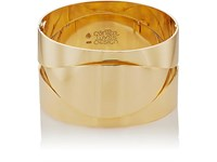 Mahnaz Collection Vintage Women's Yellow Gold Hinged Bangle No Color