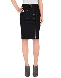 Burberry Brit Skirts Knee Length Skirts Women Black