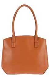 Lodis Patty Leather Briefcase Brown Toffee