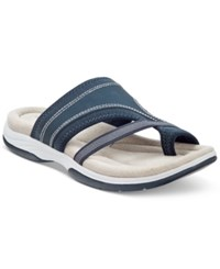 Easy Street Shoes Easy Street Gypsy Sandals Women's Shoes Navy