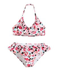 Kate Spade Blooming Floral Two Piece Swimsuit Pink