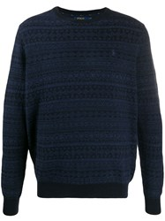 Ralph Lauren Round Neck Jumper Blue