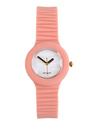 Hip Hop Timepieces Wrist Watches Women Pink