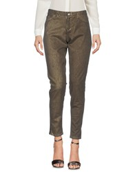 0039 Italy Casual Pants Military Green