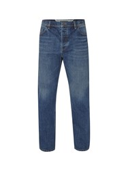 White Stuff Men's Gin Slim Cut Jean Antique Blue
