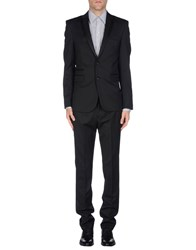 Karl Lagerfeld Suits Black