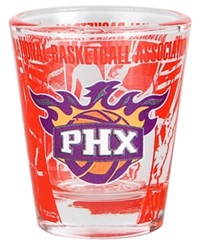 Hunter Manufacturing Phoenix Suns 3D Collector Glass Team Color