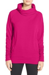 Women's Zella 'Inner Peace' Cotton Blend Pullover Pink Vivacious