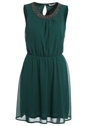 Only Onldonna Cocktail Dress Party Dress Botanical Garden Dark Green