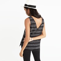 Madewell Terry V Back Tank Top