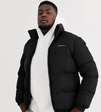 Good For Nothing Puffer Jacket In Black