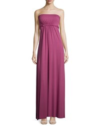 Rachel Pally Strapless Empire Waist Caftan Maxi Dress