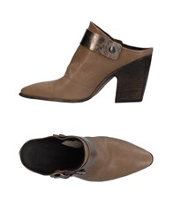 Lemare Mules Military Green