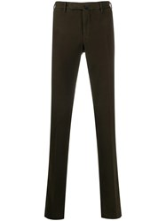 Incotex Tailored Trousers Brown