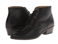 Frye Ruby Chukka Black Smooth Vintage Leather Women's Lace Up Boots