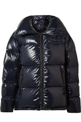 Calvin Klein 205W39nyc Oversized Quilted Coated Shell Jacket Navy