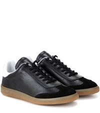 Isabel Marant Etoile Bryce Leather Sneakers Black