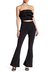 Wow Couture Ruffle 2 Piece Set Black
