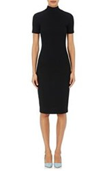 L'agence Women's Ami Mock Turtleneck Dress Black